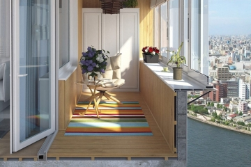 Отопление балкона теплым полом: какую систему электрического теплого пола на балкон выбрать