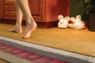 Как сделать отопление полов в частном доме: полезные советы