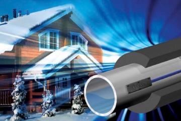 Как греющий кабель для водопровода защитит трубопровод от замерзания