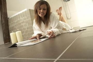Отопление дома теплыми полами: преимущества электрооборудования