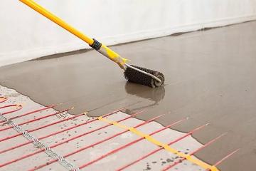 Отопление в бетонном полу: особенности и технология монтажа