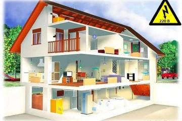 Электрическое отопление коттеджа: варианты и преимущества