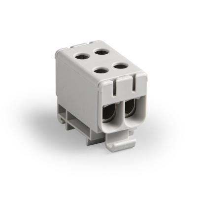 Распределительный блок, серый, Al 6-50 мм², Cu 2.5-50 мм²