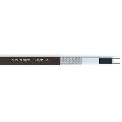 Нагревательный саморегулирующий кабель Optiheat 20 Вт/м черный EFPO20