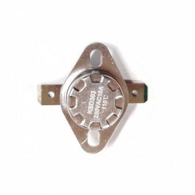 Термостат  110oС, 10A  (биметаллический, самовозвратный)
