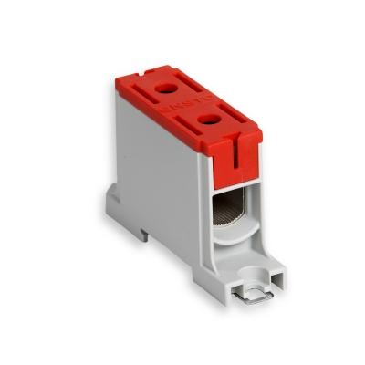 1-полюсный, красный, Al/Cu 16-95 мм²