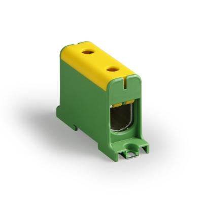 1-полюсный, жёлтый/зелёный, Al/Cu 35-150 мм²