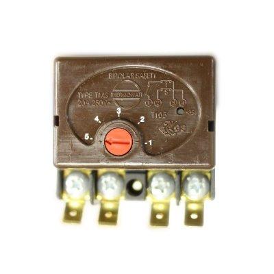 Термостат стержневой TMS 20A 70oС/90oС (Биполярная термозащита на 90 гр.) 4 контакта            Thermowatt                                                            ,