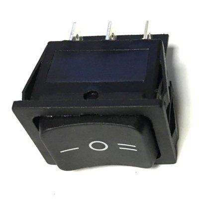 Выключатель одноклавишный 265*31мм (15А 250В, 3 положения 6 конт. ON-OFF-ON)