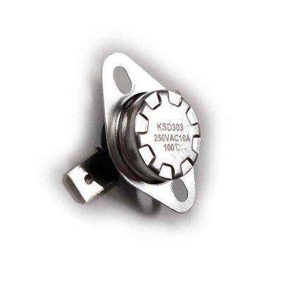 Термостат  100oС, 10A  (биметаллический, самовозвратный)