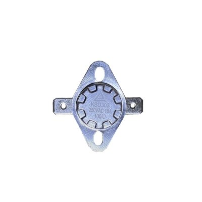 Термостат  90oС, 10A  (биметаллический, самовозвратный)