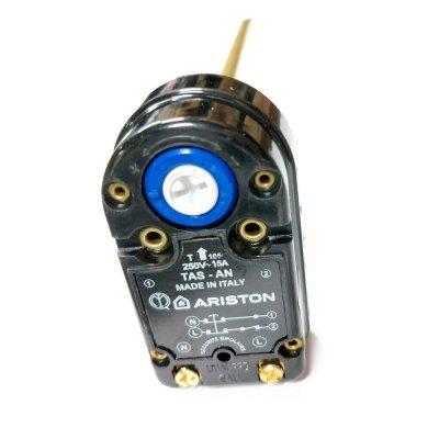 Термостат стержневой RTS 450 16A 72oС/90oС (Биполярная термозащита на 90 гр.) Удлиненный 450мм, для ЭВН 150-250 литров ARISTON
