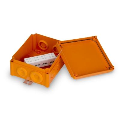 Junction box E90 175 x 150 mm, PP, 4 x KR16.4