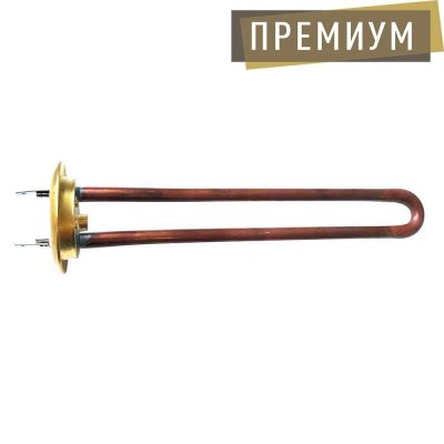 ТЭН RF TW 700Вт. PREMIUM (медн) M4 под анод(L-250мм, Латунный фланец 64 мм. )