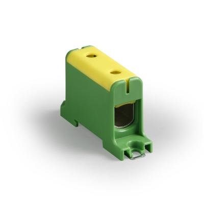 1-полюсный, жёлтый/зелёный, Al/Cu 16-95 мм²