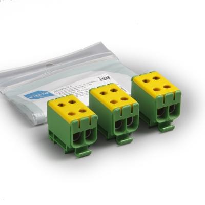 3 x KE66.3 жёлтый/зелёный, Al 6-50 мм², Cu 2.5-50 мм²