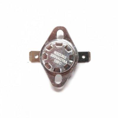 Термостат  120oС, 16A  (биметаллический, самовозвратный)