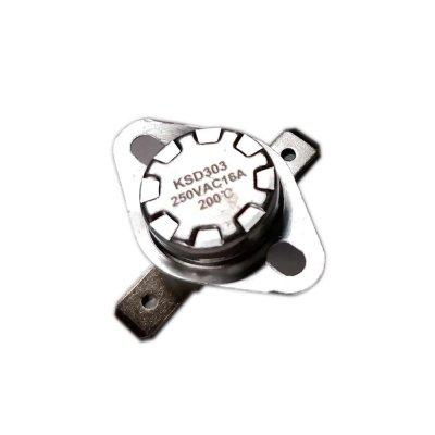 Термостат  200oС, 16A  (биметаллический, самовозвратный)