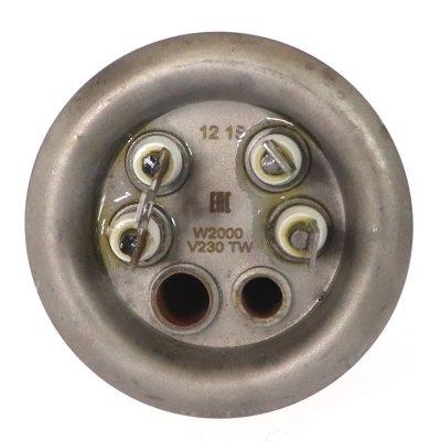 ТЭН RF 2000 Вт.КомплектТЭН+Анод+ПрокладкаУниверсальный ТЭН для водонагревателя)(К-2000)