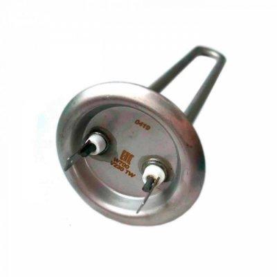 ТЭН RF TW 700 Вт. PREMIUM (нерж 316L) M4 под анод(L-250мм, фланец 64 мм.ТЭН для плоского водонагревателя)