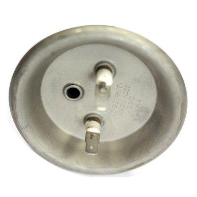 """ТЭН """"ИТА"""" 1,5 кВт гор. М6 под анод (медн.) Фланец 92 мм. Для Термекс, контакты """"папа"""" под разъемы - клеммы."""