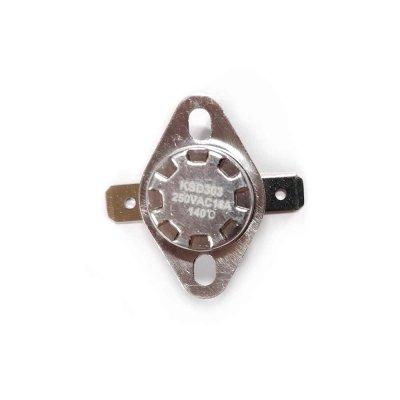 Термостат  140oС, 16A  (биметаллический, самовозвратный)