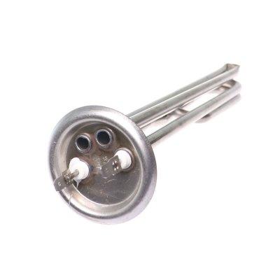 """ТЭН """"ИТА"""" RF64 2,0 кВт M4 НержОднорежимный, малошумящий, L-260мм( 2 трубки для термостата и термозащ., контакты """"под разъём"""")"""