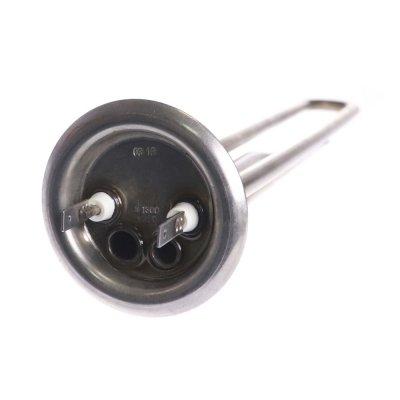 ТЭН RF T 1300 Вт. M4 под анод(L-310мм, 2 трубки для термостата и термозащиты)(фланец 64 мм.  ГРЕЮЩАЯ ТРУБКА ТИТАНОВАЯ)