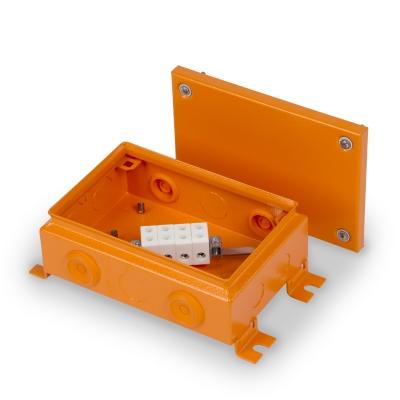 Junction box E90 220 x 150 mm, FE, 4 x KR6