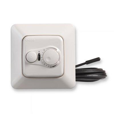 Терморегулятор для теплого пола ECO10FJ серии Jussi, белый