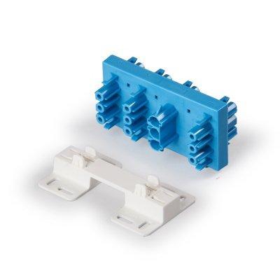 Распределительный блок 1 фаза, 7 выходов, синий