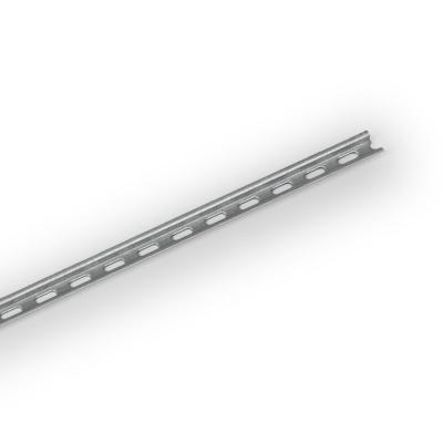 DIN рейка, 15 мм, сталь, длина = 2 m