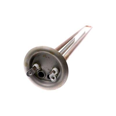ТЭН RF 2000 Вт M6 под анод(L-420мм, контакты под винт М4)     (фланец 64 мм. Универсальный однорежимный ТЭН для водонагревателей большого объема 80-150л)                                                          (аналог 66060)