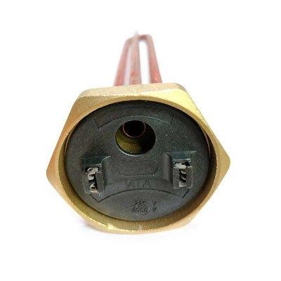 """ТЭН  тип  RDT 3,0 кВт M6  ИТА+фланец """"гайка""""- резьба D42мм. (Универсальный ТЭН для водонагревателей Аристон, Реал и другие)  заливка композитная"""