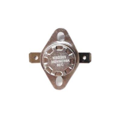 Термостат  80oС, 16A  (биметаллический, самовозвратный)