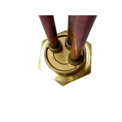 """ТЭН  RDT 1,5 кВт ИТА+ фланец """"гайка""""- резьба D42мм. (Универсальный ТЭН для водонагревателей Аристон, Реал и другие) заливка композитная"""