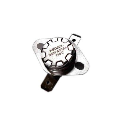 Термостат  110oС, 16A  (биметаллический, самовозвратный)