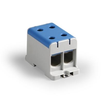 Распределительный блок, синий, Al/Cu 35-150 мм²
