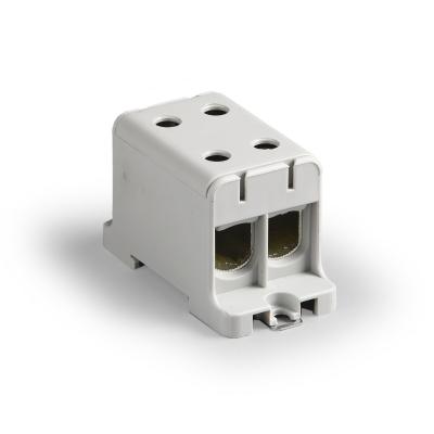 Распределительный блок, серый, Al/Cu 16-95 мм²