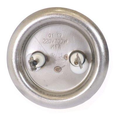 """ТЭН """"ИТА"""" RF64 0,7 кВт.(нерж.)  с анодом M4 (L-250мм, фланец 64 мм. Универсальный ТЭН для плоского водонагревателя)"""
