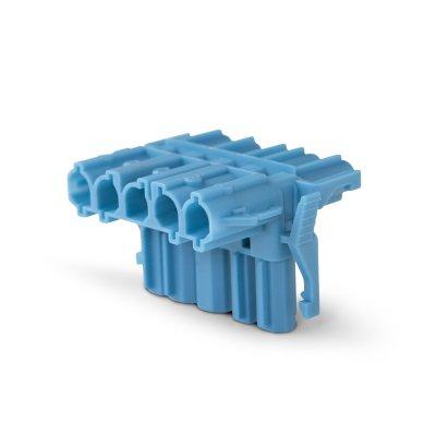 Т-образный разъем 5-Полюсный, синий