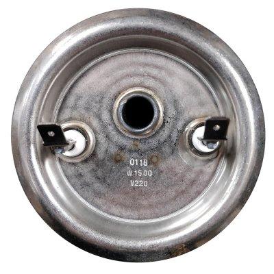 ТЭН RF 1,5 кВт SEV M6 под анод  (1 трубка для термостата и термозащиты, фланец 82 мм. Универсальный однорежимный ТЭН для водонагревателя  30-150л., вертикальные модели)