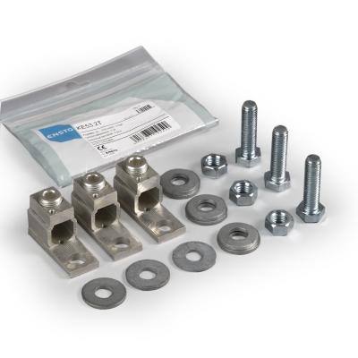 Комплект 3 клемов для оборудованияs Al/Cu 35-240 мм², 425 A, вкл. KJ5.12