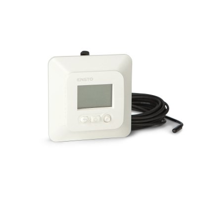 Электронный комбинированный терморегулятор с ЖК-дисплеем ECO16LCDJR