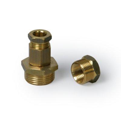 """Комплект для ввода в трубу саморегулирующего кабеля Optiheat 10 1/2"""", 3/4"""" и 1"""""""