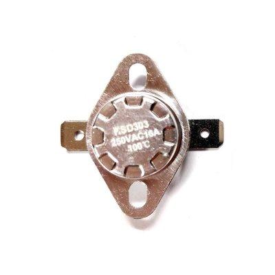 Термостат  100oС, 16A  (биметаллический, самовозвратный)