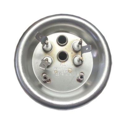 """ТЭН """"ИТА"""" 2,5 кВт RZL гор.  M6 под анод   (нерж.) (1,25+1,25кВт)Фланец 92 мм. универсальныйдвойная трубка  для термозащиты и термостата"""