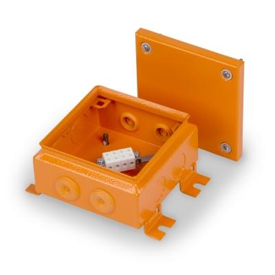 Junction box E90 150 x 150 mm, FE, 4 x KR6