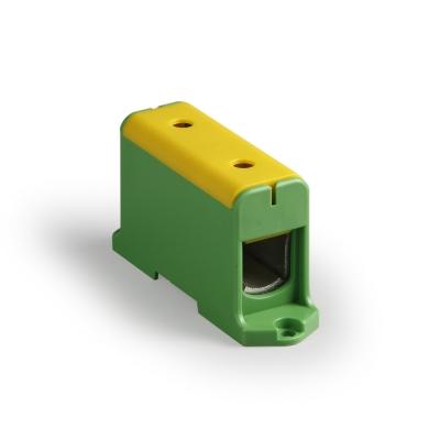 1-полюсный, жёлтый/зелёный, Al/Cu 35-240 мм²