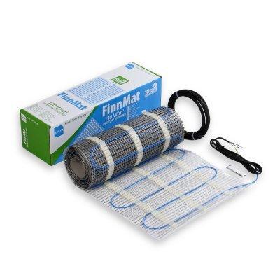 Нагревательный кабель мат FinnMat, 0,5 м, 6м 3м2 390 Вт